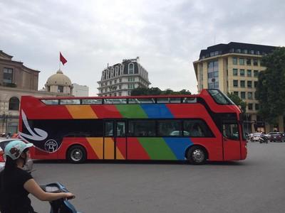 Hà Nội sắp khai thác buýt 2 tầng mui trần