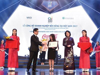 Coca-Cola tiếp tục chiến lược phát triển bền vững tại Việt Nam