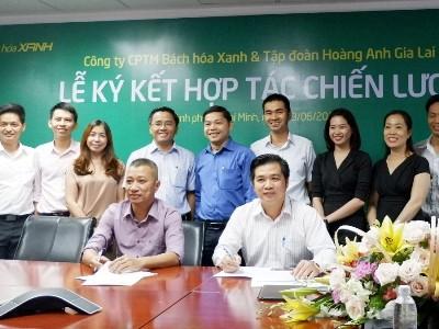 Bách hóa Xanh ký kết chiến lược với Hoàng Anh Gia Lai