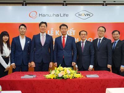 Hanwha Life Việt Nam hợp tác chiến lược với Movin, đa dạng hóa kênh phân phối