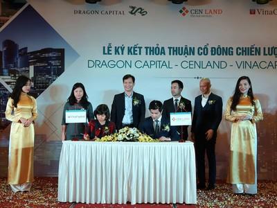 Dragon Capital và Vina Capital là hai cổ đông chiến lược của CENLAND