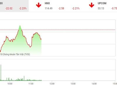 Phiên chiều 25/5: Xả ồ ạt, VN-Index tiếp tục lao dốc mất mốc 965 điểm