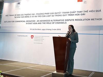 IFC thúc đẩy giải quyết tranh chấp thương mại thông qua hòa giải