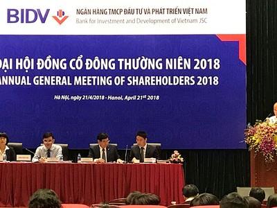 Đại hội đồng cổ đông BIDV: Ông Phạm Quang Tùng vào HĐQT, nhưng vẫn trống vị trí Chủ tịch HĐQT