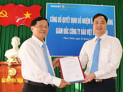 Bảo hiểm Bảo Việt thay nhân sự cấp cao