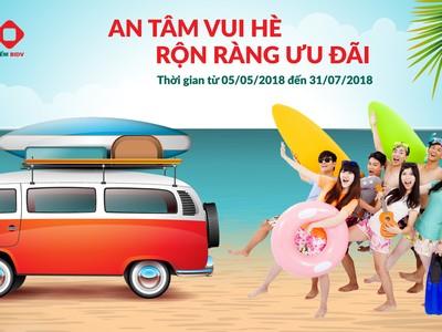 BIC giảm tới 40% phí bảo hiểm du lịch trong dịp hè 2018