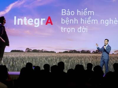 AIA Việt Nam ra mắt sản phẩm IntegrA- Bảo hiểm bệnh hiểm nghèo trọn đời