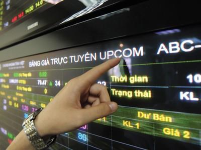 Tháng 5, khối ngoại mua ròng 64 tỷ đồng trên UPCoM