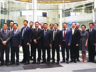 Thắt chặt hợp tác ngành chứng khoán Việt Nam - Nhật Bản