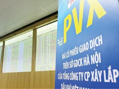 Cổ phiếu PVX vào diện kiểm soát, chỉ được giao dịch phiên thứ Sáu hàng tuần