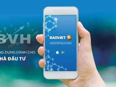 Bảo Việt ra mắt ứng dụng: Quan hệ nhà đầu tư trên Mobile App