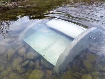 """""""Waterotor"""", chiếc máy thu hoạch năng lượng xanh trong vùng nước chuyển động chậm"""