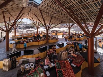 Khu chợ Baltic, hòa nhịp hơi thở cuộc sống