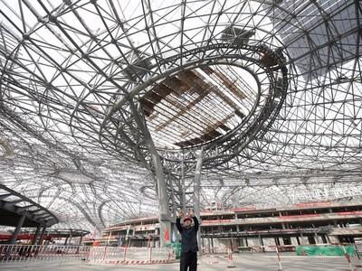 Sân bay có quy mô lớn nhất thế giới trị giá 12 tỷ USD sắp hoàn thiện