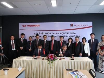 Agribank và Tập đoàn Yanmar ký kết triển khai thỏa thuận hợp tác