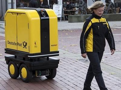 PostBOT, robot hỗ trợ vận chuyển thư và bưu phẩm
