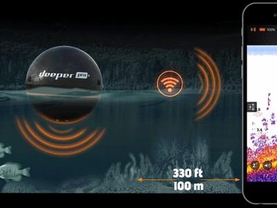 Biến chiếc smartphone thành… máy dò cá