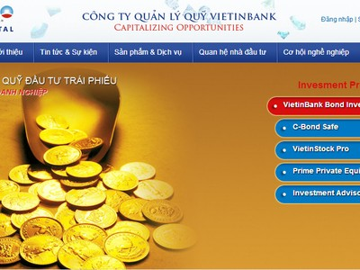 Quỹ Vietinbank: 9 tháng lãi 53,2 tỷ đồng