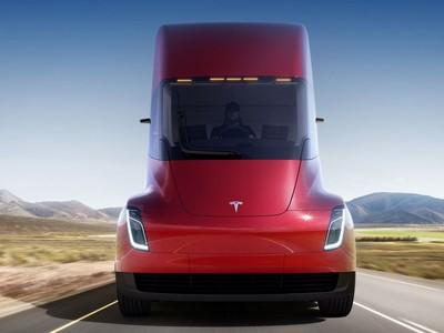 """Tesla """"trình làng"""" dòng xe tải hạng nặng chạy bằng điện"""