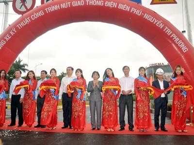 Đà Nẵng chính thức thông xe kĩ thuật hầm chui Điện Biên Phủ - Nguyễn Tri Phương