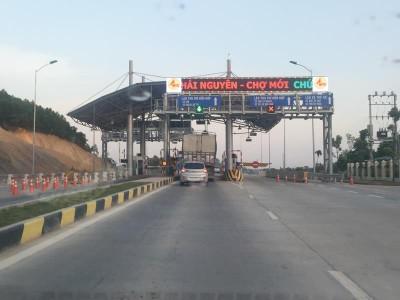 Bộ Giao thông thúc Thái Nguyên sớm thu giá dịch vụ Dự án BOT Thái Nguyên - Chợ Mới