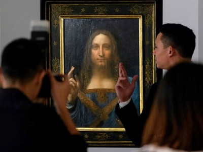 """""""Đấng Cứu thế"""" của Da Vinci giá 450 triệu USD, đắt nhất mọi thời đại"""