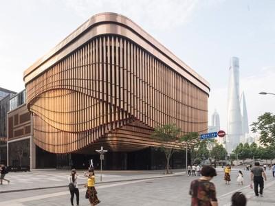Tòa nhà có khả năng biến hình ở Thượng Hải