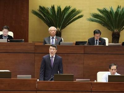 Đại biểu Quốc hội hài lòng với phần trả lời của Thống đốc Ngân hàng Nhà nước