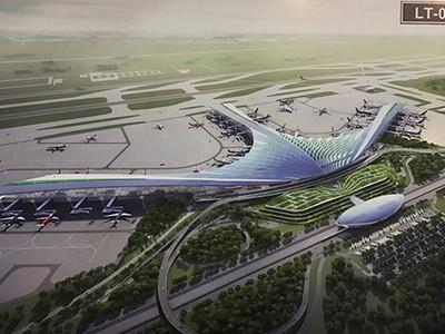 Chủ đầu tư đề xuất thiết kế lá cọ cho sân bay Long Thành