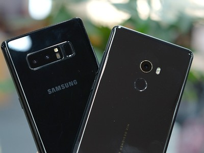 Mi Mix 2 thua Galaxy Note8 trong bình chọn camera