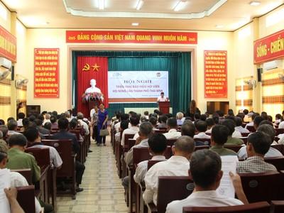 BSH cung cấp bảo hiểm thân thể toàn diện cho nông dân Thái Bình