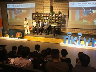 FWD hợp tác với Tiki miễn phí bảo hiểm cho 100.000 khách hàng