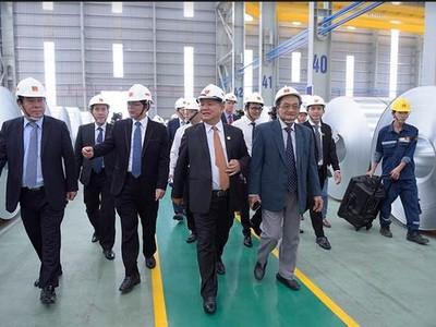 HSG khởi công giai đoạn 2 nhà máy tại Bình Định