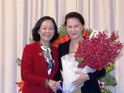 Trưởng Ban Dân vận Trung ương Trương Thị Mai nhận trọng trách mới