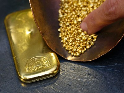 Sáng 14/11, giá vàng thế giới tăng, trong nước đồng loạt giảm