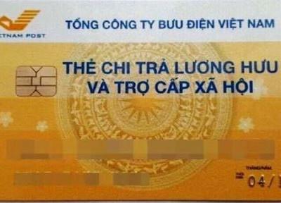 Hà Nội đã phát hành thí điểm 15.964 Thẻ chi trả lương hưu và trợ cấp BHXH