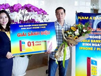 Nam A Bank tìm ra chủ nhân điện thoại Iphone 7 Plus