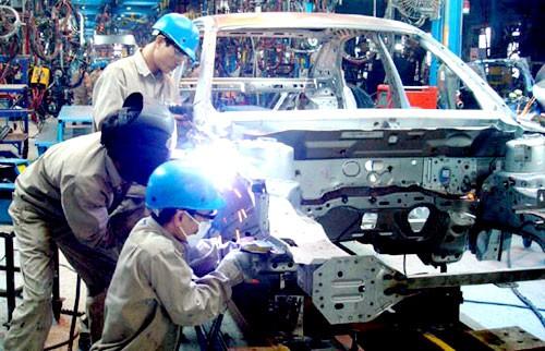 Chỉ số sản xuất công nghiệp của cả nước tăng 6,5% trong 7 tháng qua