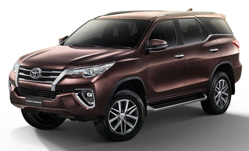 Toyota Fortuner mới bỏ phanh tang trống, giá từ 37.300 USD