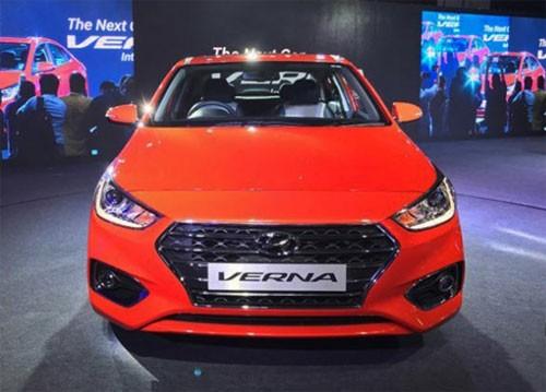 Hyundai Accent 2018 giá từ 12.500 USD