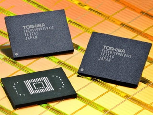 Toshiba sẽ bán mảng sản xuất chip nhớ cho Western Digital