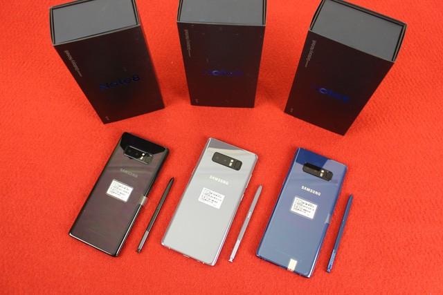 Galaxy Note8 xách tay về Việt Nam, giá bán cao hơn hàng chính hãng