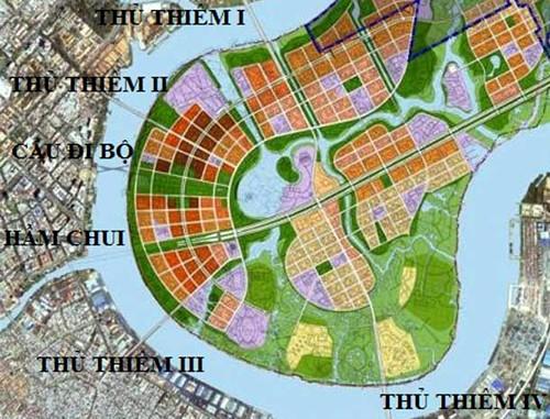 TP. HCM đổi 16 khu đất lấy cầu Thủ Thiêm 4