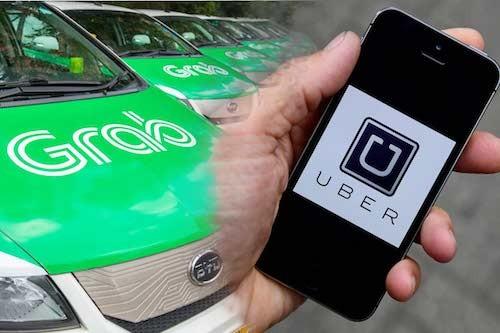 Uber dùng phần mềm gián điệp theo dõi Grab