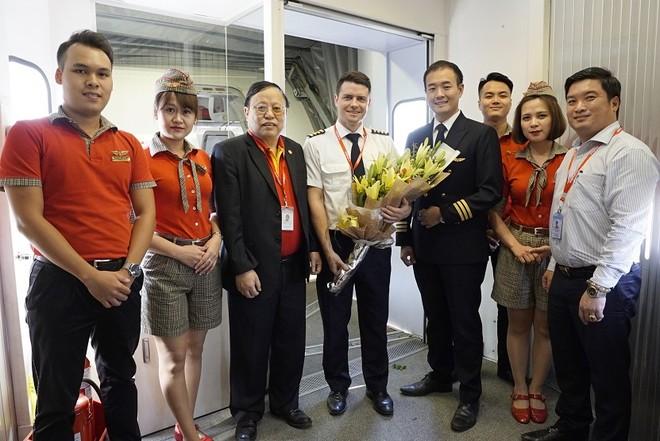 Vietjet tưng bừng khai trương đường bay Hà Nội - Cao Hùng