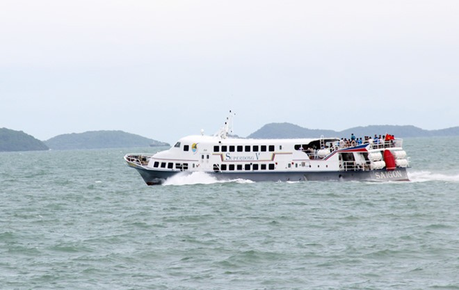 Superdong – Kiên Giang (SKG) đầu tư 4 triệu USD đóng 2 tàu cao tốc cho tuyến Phan Thiết – Phú Quý