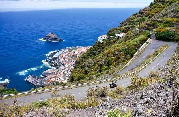 Những cung đường ngoạn mục trên đảo Tenerife