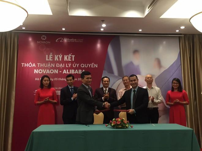 Novaon bắt tay với Alibaba phát triển xuất khẩu trực tuyến cho doanh nghiệp Việt