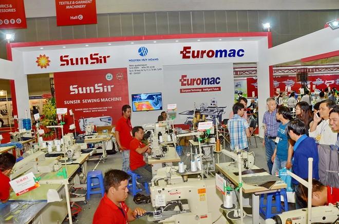 Hơn 400 đơn vị tham gia triển lãm quốc tế về ngành công nghiệp dệt may lần thứ hai