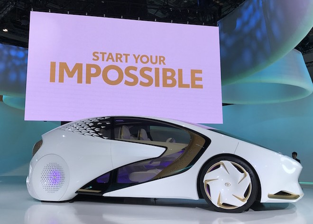 Toyota Motor giới thiệu hàng loạt mẫu xe tương lai tại Tokyo Motor show 2017